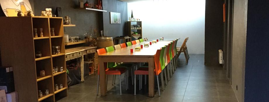 Un espace dédié à vos réunions professionnelles ou privées
